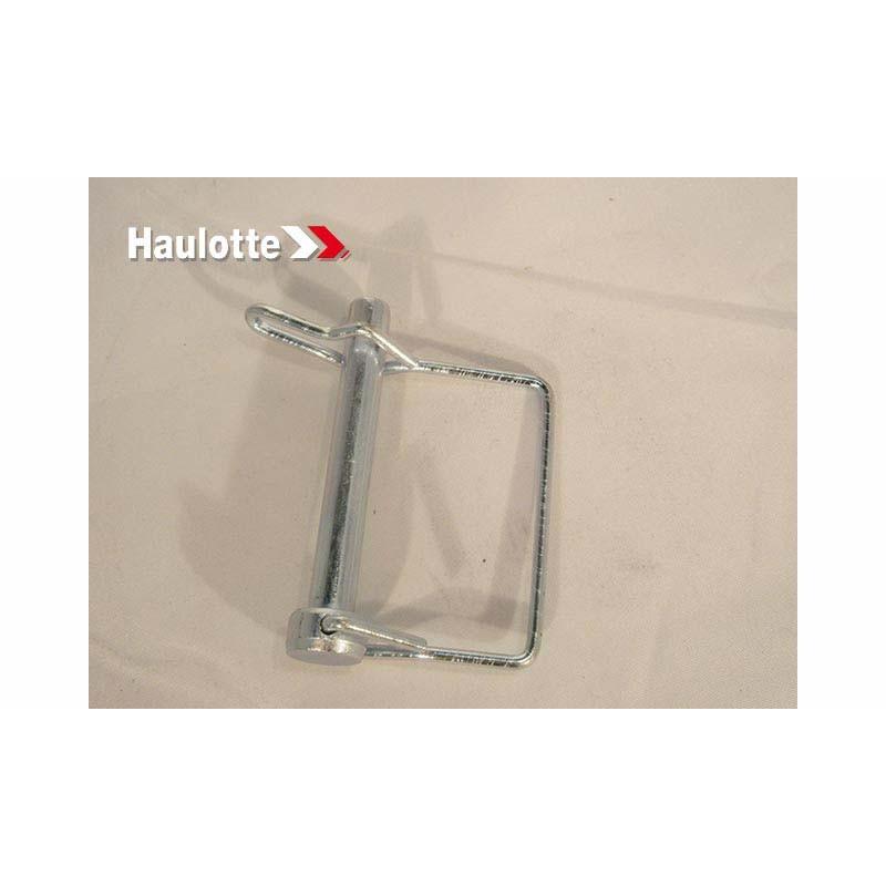 0068-061 Biljax Haulotte Pin-Snap-2in-C1008,Zinc PlatedSL-45 w/Spring Wire (SCW 80) BilJax